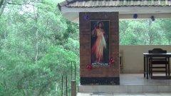 """Obraz """"Jezu, ufam Tobie"""" w kaplicy w Ugandzie (Munyonyo)"""