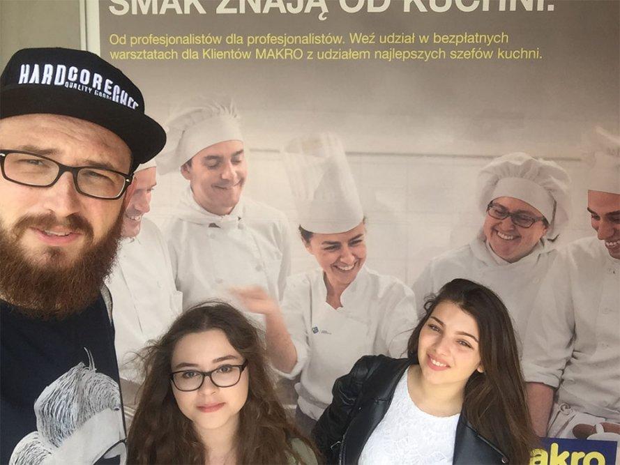 Milena i Katarzyna w Akademii Inspiracji Makro w Warszawie