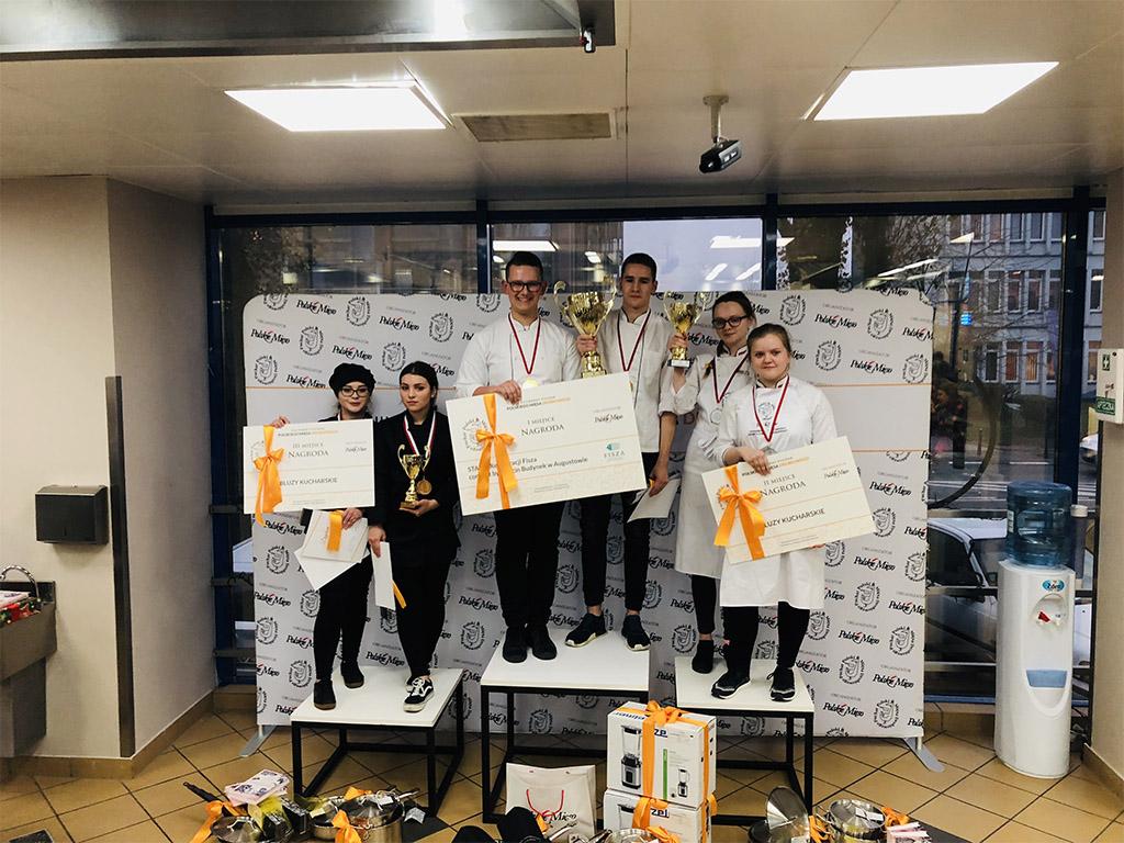 Brązowy medal w ogólnopolskim konkursie kulinarnym